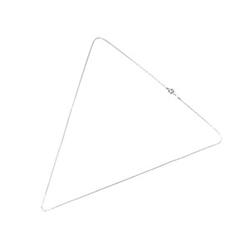 アイファニー K18WG ホワイトゴールド ナローS ネックレス チェーン 画像