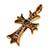 クロムハーツ タイニーファット クロス 22k ブルーサファイヤ 画像