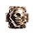 ストップライト スカル四角リング メキシカンリング 画像