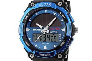 ソーラー式時計