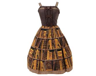 イノセントワールド 王宮図書館リボンジャンパースカートカチューシャセット 画像
