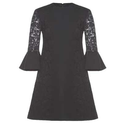 ヴァレンティノ ヘビーレース ドレス ワンピース 画像