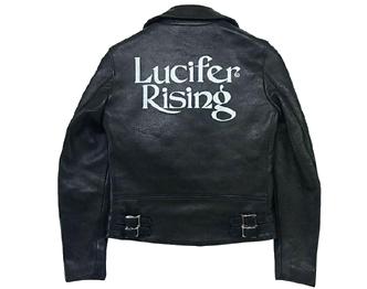 ヒステリックグラマー × ルイスレザー ライトニング ライダースジャケット 画像