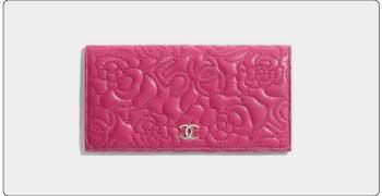シャネル ピンク 財布 画像