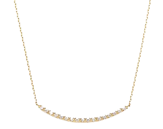 ヴァンドーム青山 ダイヤモンド リュール ネックレス 画像