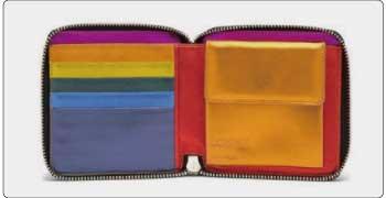 ロエベ 財布 レインボー 画像