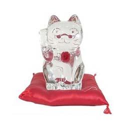 バカラ ラッキー キャット 招き猫 レッドオクトゴン 画像