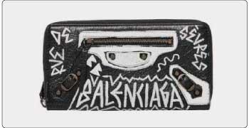 バレンシアガ 長財布 画像