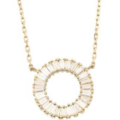 ベルシオラ K18YG ダイヤモンドネックレス 画像