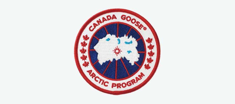 カナダグースロゴ画像