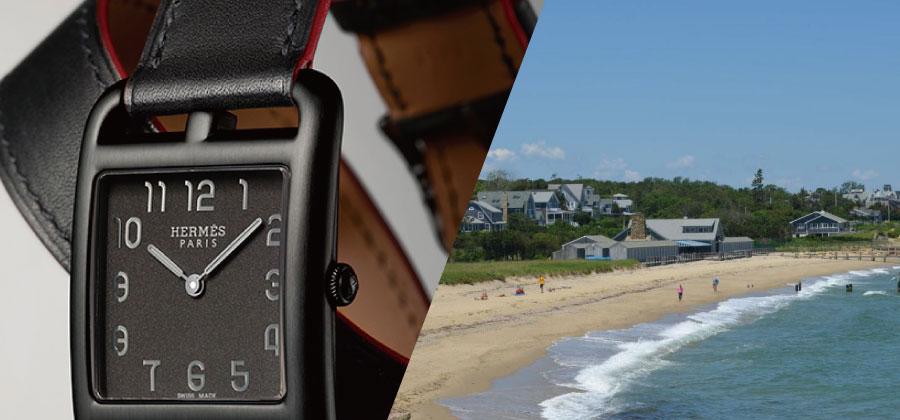 2017年夏に発売された「エルメス」のケープコッド シャドウレディース時計買取情報画像