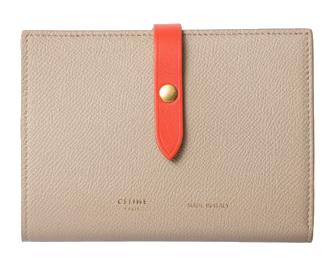 セリーヌ ストラップ 二つ折り財布 画像