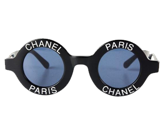 シャネル ヴィンテージ ロゴ サングラス 画像