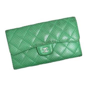 シャネル 財布 A31506 パンチング マトラッセ 長財布 画像