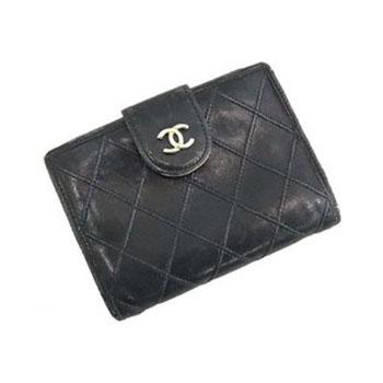 シャネル 財布 がま口 二つ折り財布 画像