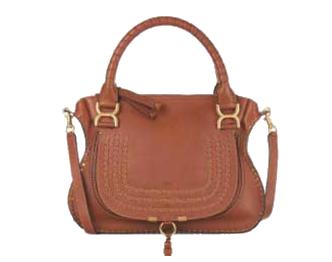 クロエ マーシー スムースカーフスキン ハンドバッグ 画像