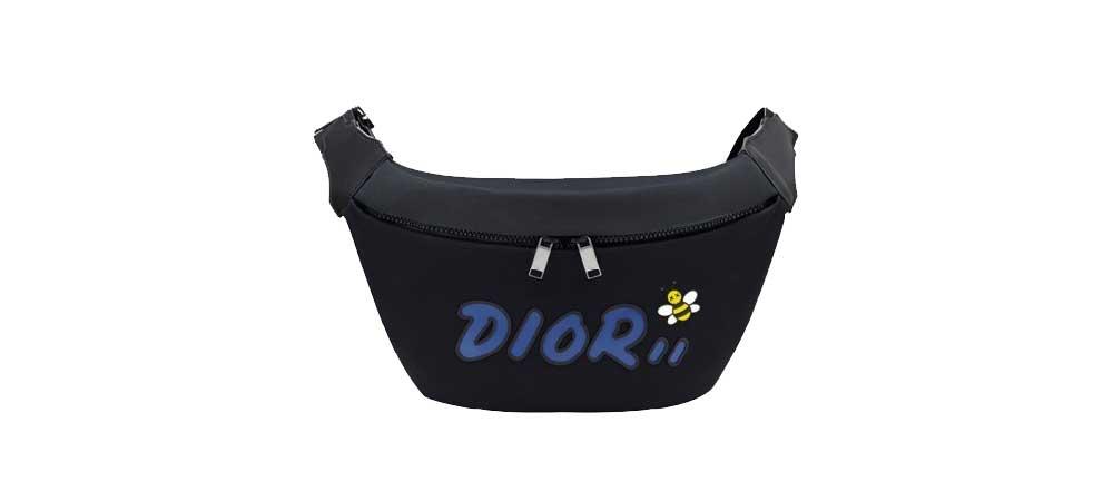 ディオール × KAWS ボディバッグ 画像
