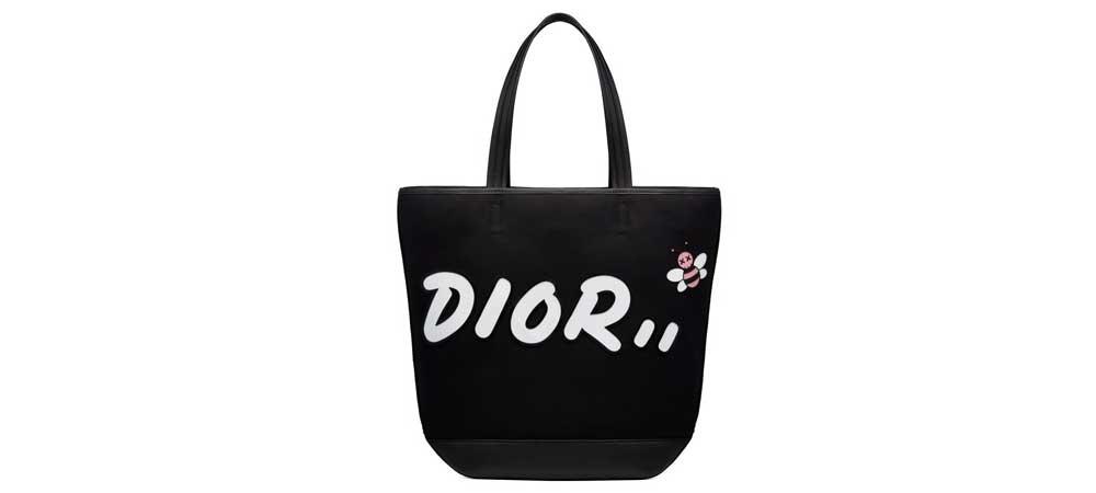 ディオール × KAWS トートバッグ 画像