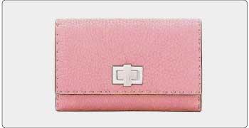 フェンディ ピンク 財布 画像