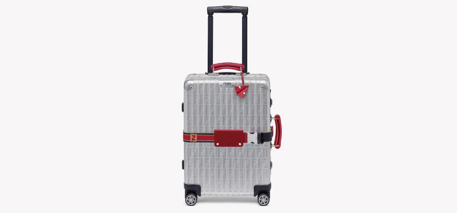 フェンディ×リモワ新色スーツケース画像