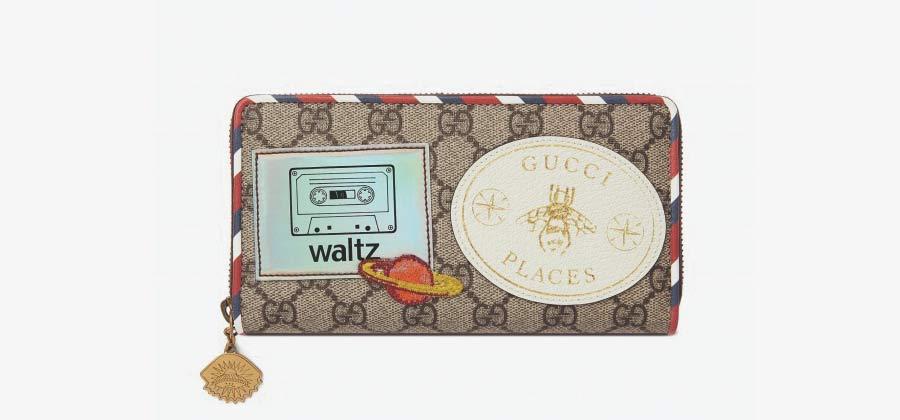 グッチ ワルツ クーリエ 財布画像