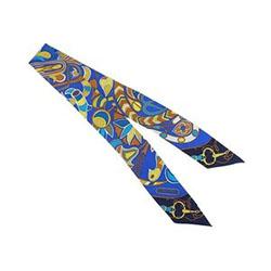 エルメス H061683S Folklore twilly フォルクロール ツイリー スカーフ 画像