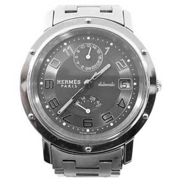 エルメス クリッパー パワーリザーブ CL2.810 オートマチック 時計 買取実績 画像