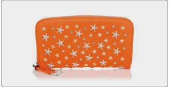 ジミーチュウ 財布 オレンジ 画像