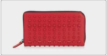 ジミーチュウ 財布 赤 画像