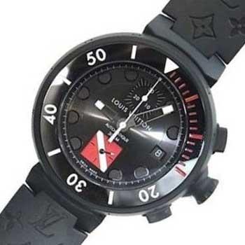 ルイヴィトン Q102F タンブール ダイバークロノ 時計 画像