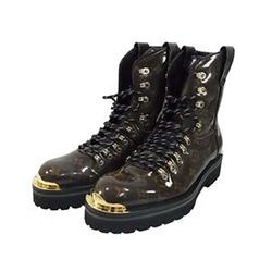 ルイヴィトン LV OUTLAND ANKLE BOOTS アウトランド モノグラム アンクル ブーツ 画像
