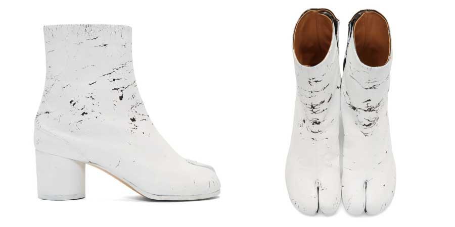ホワイトアウト Tabi ブーツ 画像