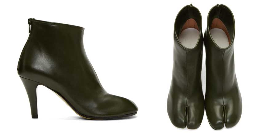 スティレット Tabi ブーツ 画像
