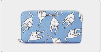 ミュウミュウ 財布 猫 画像