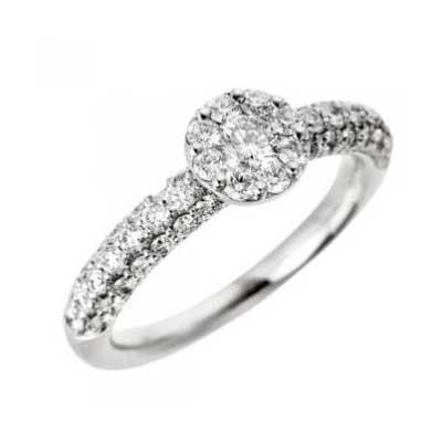 ポンテヴェキオ ダイヤモンドリング 画像