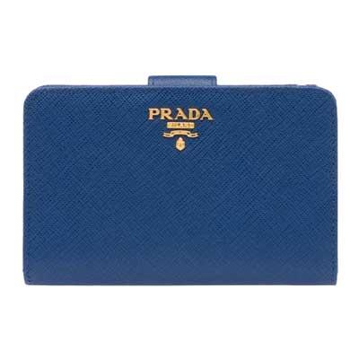 プラダ サフィアーノ 二つ折り財布 画像