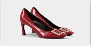ロジェヴィヴィエ 靴/靴 赤 画像