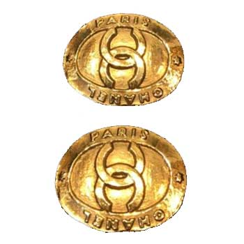 ヴィンテージシャネル ココマーク ゴールドカラー イヤリング 中古品 画像