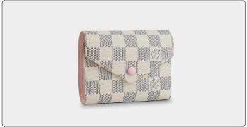 ルイヴィトン ダミエアズール 二つ折り財布 画像
